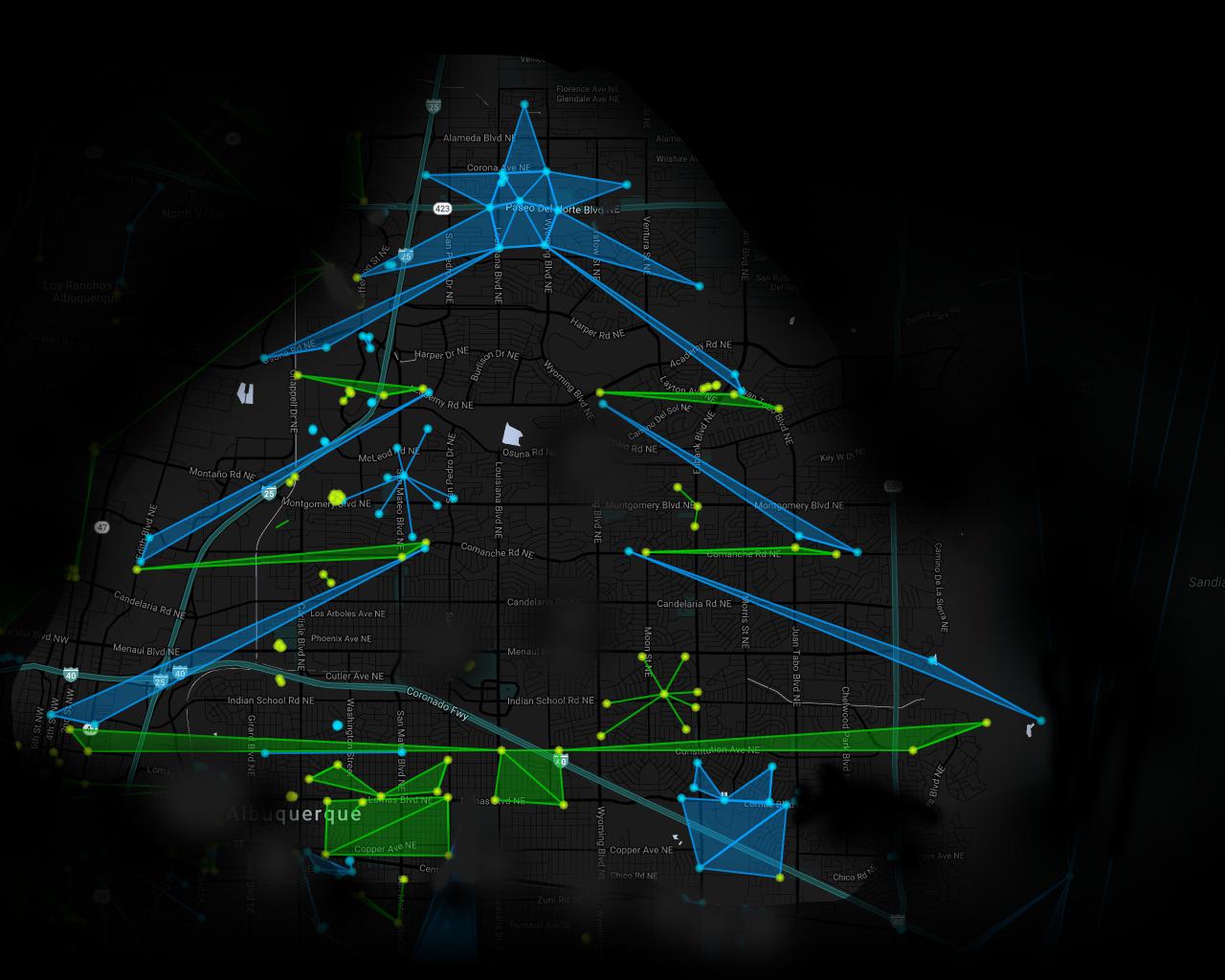A Merry Cross Faction Ingress Christmas